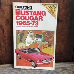 Ford Mustang cougar repair book